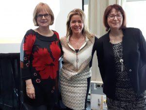 Linda Cyrenne, Chantal Hains et Chantal Proteau